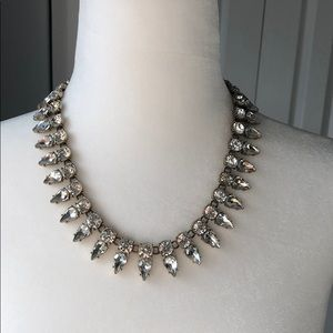 J Crew Jewel Rhinestone Spike necklace